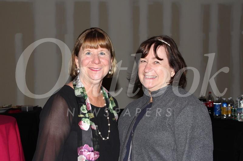 Marlene Evans and Rebecca Harris