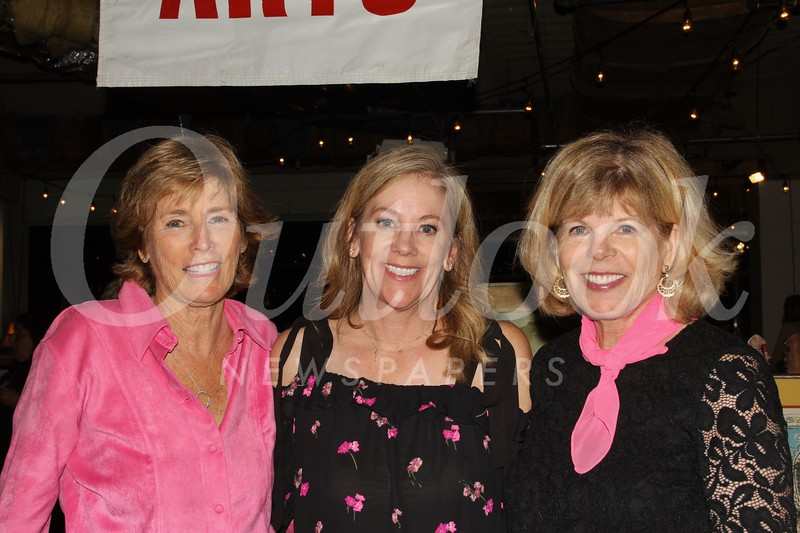 Susie Talt, Cheryl Stewart and Molly Taylor