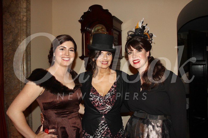 Christine Muller, Rachel Criswell and