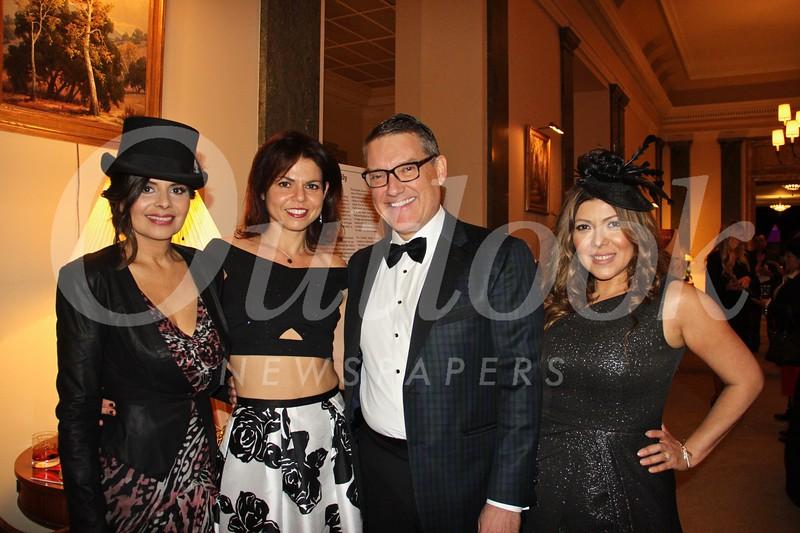 Vivian Godoy Rodriguez, Lora Unger, Phil Swan and Sandra Plowman