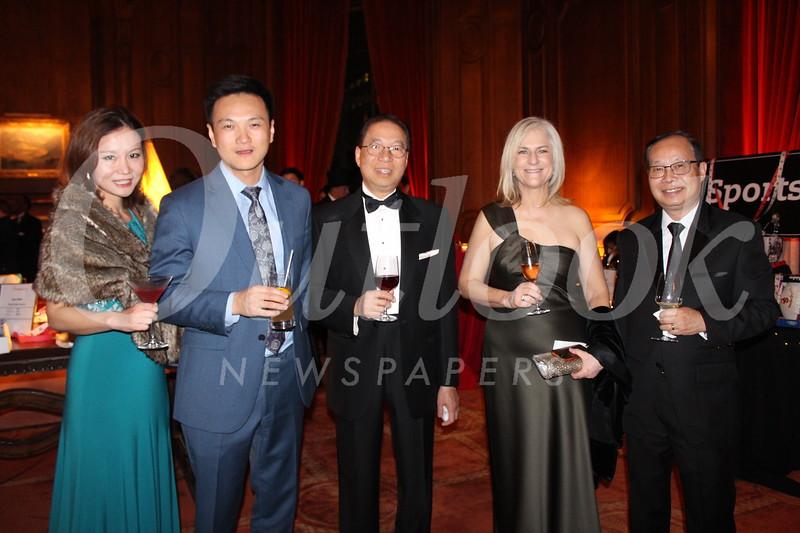 Tammy Hong, Rex Hong, Wilson Tang, Karen Kocvara, Pin Tai