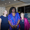 Gina Long, Dawn Blackman and USHS CEO Anne Miskey