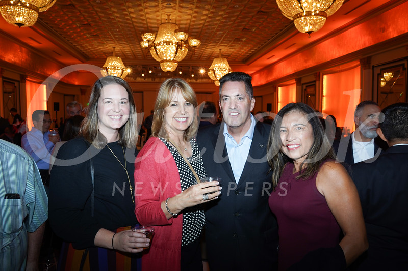 Amanda Green, Kimber Westmore, and Kevin and Holly Triebre