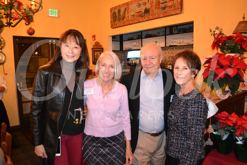 Connie Ching, Gioia Pastre, and Brian and Kathy Palmer