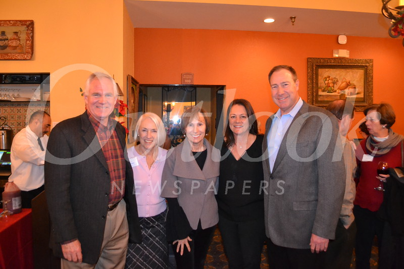 Larry and Gioia Pastre, Jeri Wright, and Pana and Brian Gelt