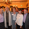 Vice President Gioia Pastre, board chair Patty Zuber, CEO Kelly White, Cynthia Kurtz and Jim McDermott