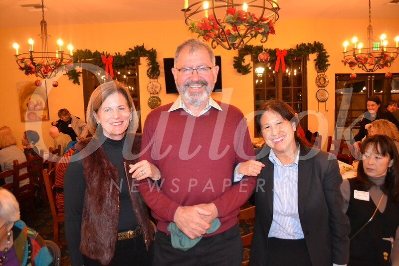 Patsy and William Pinney with Lloyd Wong
