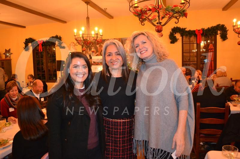 Savannah Moore, Margo Morales and Noreen Sullivan