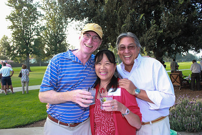 Bill Waller with Diana and Jack Seto