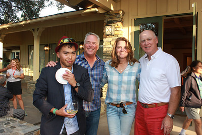 Jeremy Catama, Riley and Jill Cole, and Don Pierro