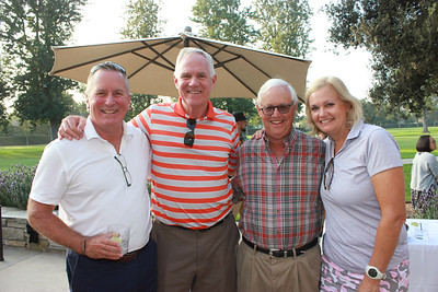 Dick Fisher, Larry Pastre, Pat Wickhem and Patty Zuber