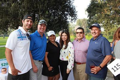 Daniel Tapia, Jason and Corinne Babcock, Linda Lopez, Tony Borrego and Danny Tapia