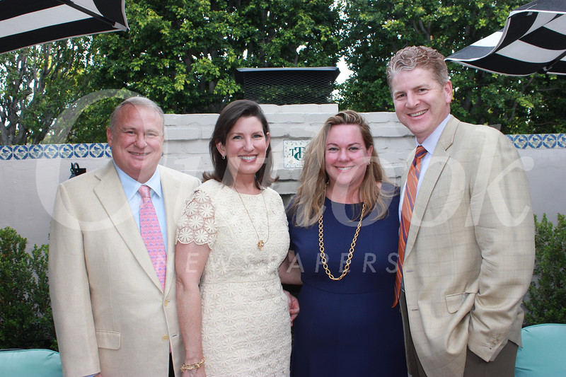 Rob and Beth Hansen with Kristin and Berkeley Harrison