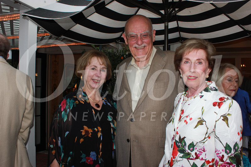 Lynn and Carl Cooper with Janet Stanford