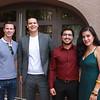 Brandon Road, James Solis, Brandon Arsineda and Natalie Zapien