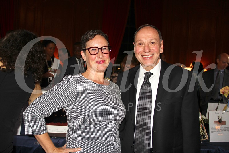 WJC Executive Director Elissa Barrett and Gordon Goldsmith