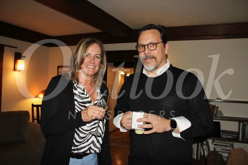 Sally Miller and Gary Baldwyn