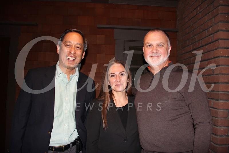 Ken Fong with Stella and René Ledis