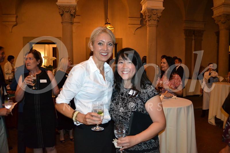Kristan Browne and Emily Ko Wang