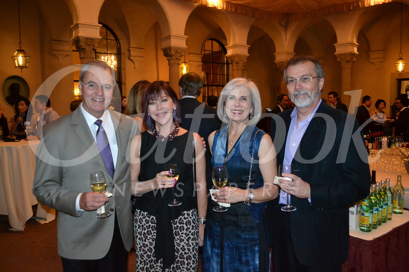 Stan and Catherine Schultz, Smooch Repovich-Reynolds and Gary Rosenberg