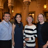 Carlos Teran, Tatiana Bonilla, Jossalyn Turner-Emslie and Head of School Elizabeth McGregor