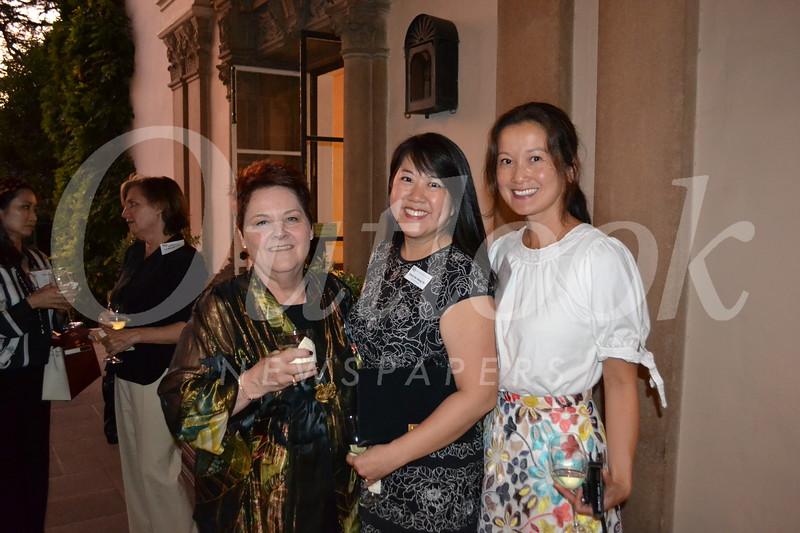 Teri Wilde, Emily Wang and Julie Woo