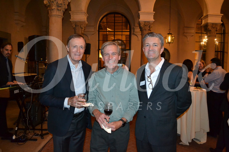 Ian McGregor, Rob Emslie and Don Morgan