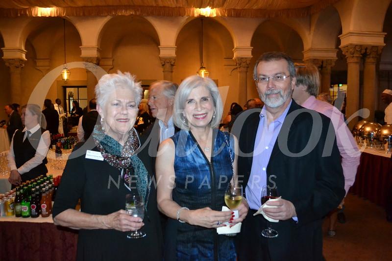 Rebecca Potter, Smooch Repovich-Reynolds and Gary Rosenberg