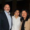 ASB President Quyen Mullin (center) with her parents, Mark Mullin and Tracy Do