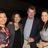 Melissa Wu, Laura and Rupert Thompson, and Julie Woo