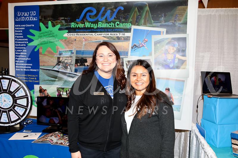 River Way Ranch Camp: Ashley Oken and Mariam Sanchez