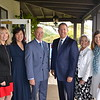 Kathy Bayle, Helen Kim Spitzer, President and Chairman of the Board of Greater Los Angeles Area Tim Greenleaf, Scout Executive of the Greater Los Angeles Area Jeff Hunt, Vicki Elliott and Evelyn Boss