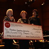 Holiday Look In Committee chair Mona Neter, Women's Committee President Lynn Van Dam Cooper, and Pasadena Symphony and Pops CEO Lora Unger