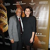 Symphony board chair Reggie Wilson and Lora Unger