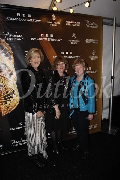 Women's committee members Donna Perez, Teena Pitts and Jane Armel