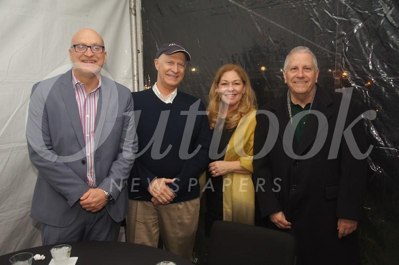 5 Joe Perkins, Rick Knutsen, Tracey Perkins and Joe Petrotta