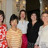 New members Ann Beeson-Leal, Amy Chang-Levack, Cynthia Bradley, Patricia Russell and Jossalyn Emslie