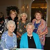 Nancy Sensenbach and Gloria Koeppel (seated) with Ruth Ann Bell, Margaret Mathews and Mary Wynton.