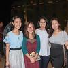 Shauna Lin, Tina Chen, Katherine Wu and Lina Olariu
