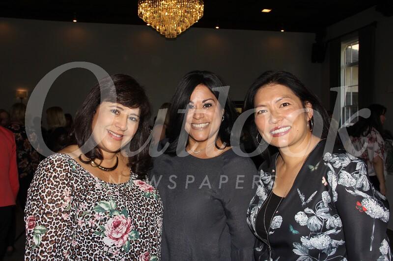 Shereen Kelly, Leila Herman and Grace Liang