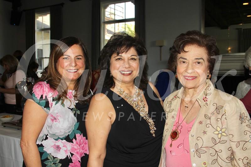 Nora Hanna, Diana Rafeedie-Nofal and Vivian Nofal