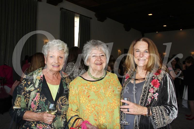 Jacquie Pergola, Judy Webb-Martin and Katie Orth