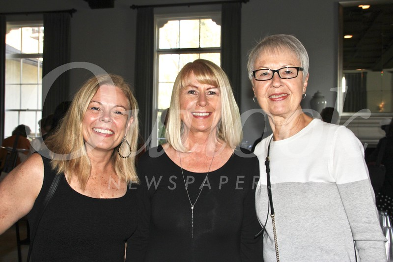 Pauli Morin, Karen Taylor and Kathleen German