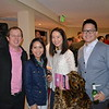 Jared and Ingrid Franz with Carol and Jerry Shen