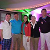 Jason Lyon, Tim Hartley, and Lisa, Marsha and Pat Dawe