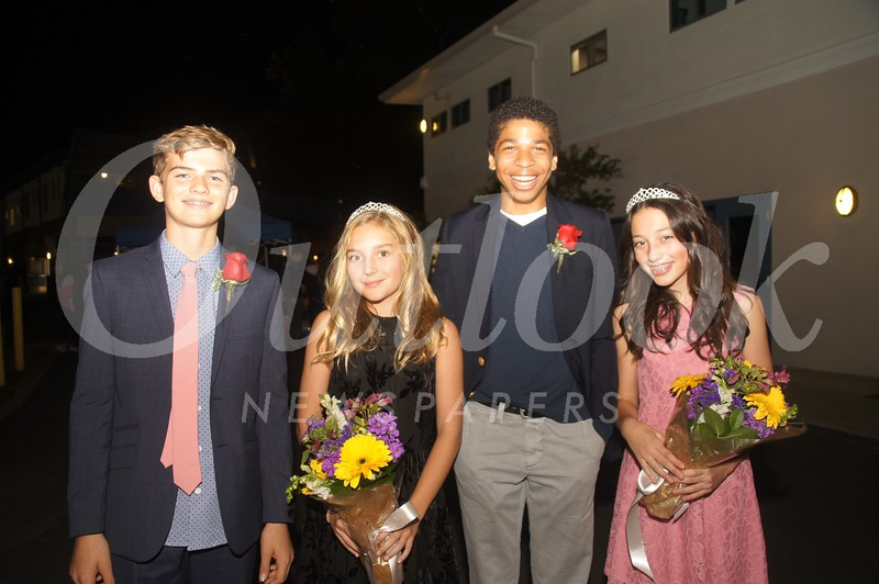 14 7th Grade- J R  Kully, Olivia Pigram, Tenzin Walker and Sabrina Bahadosingh