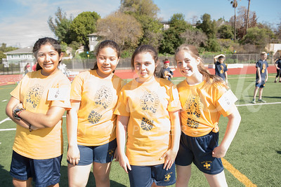 Fun and Funds at Holy Family Jog-a-thon