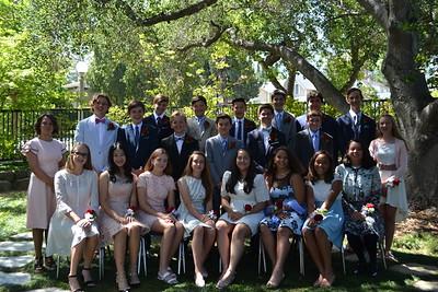 Gooden School Graduates 8th Grade Class