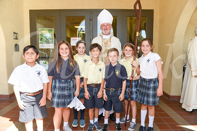 Holy Family School's New Playground Blessed