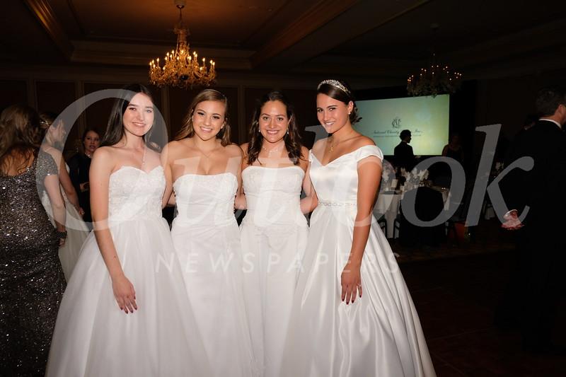 Sophia Godinez, Maddie Bohman, Genevieve Fraipont and Kathryn Gerhardt